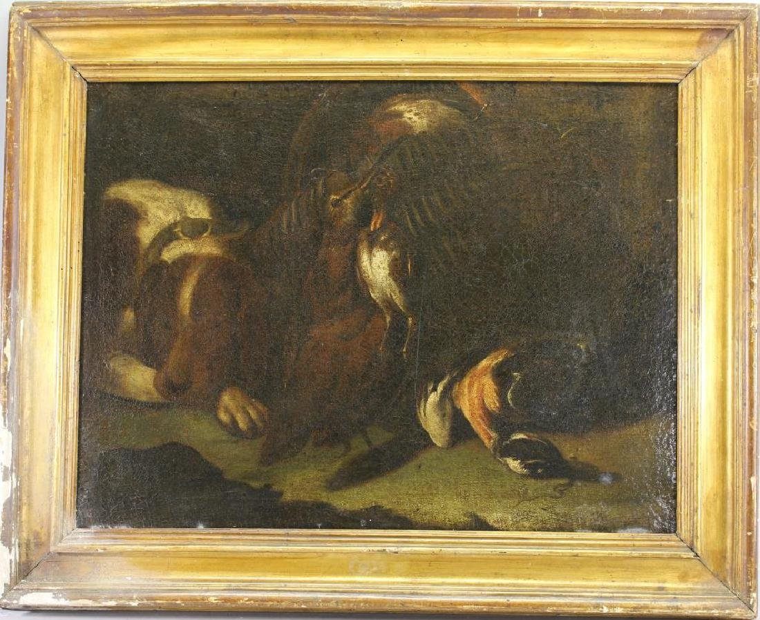 17th/18th C. Painting, The Day's Bag