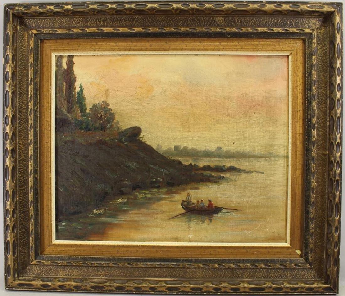 European School, 19th C. Coastal Painting