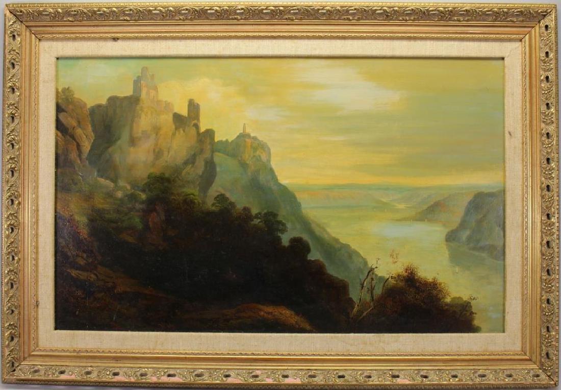 Paul Ritter I (1829 - 1907) Hudson River Scene