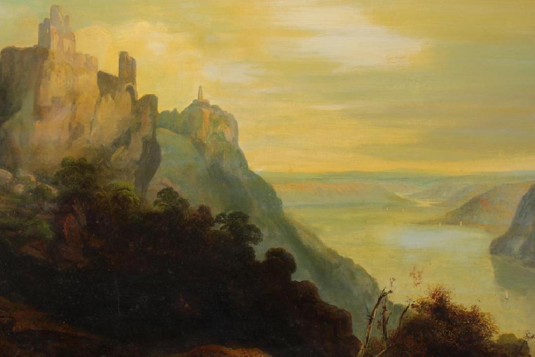 Paul Ritter I (1829 - 1907) Hudson River Scene - 2