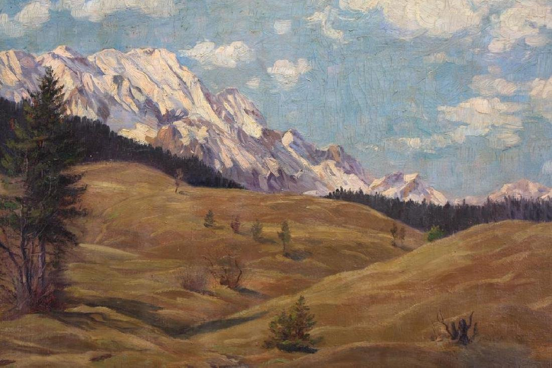 "Irving R. Bacon (1875-1962) ""In the Mountains"" - 2"