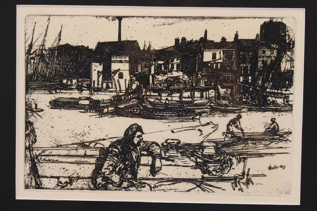 After McNeill Whistler (1834 - 1903) Etching - 2