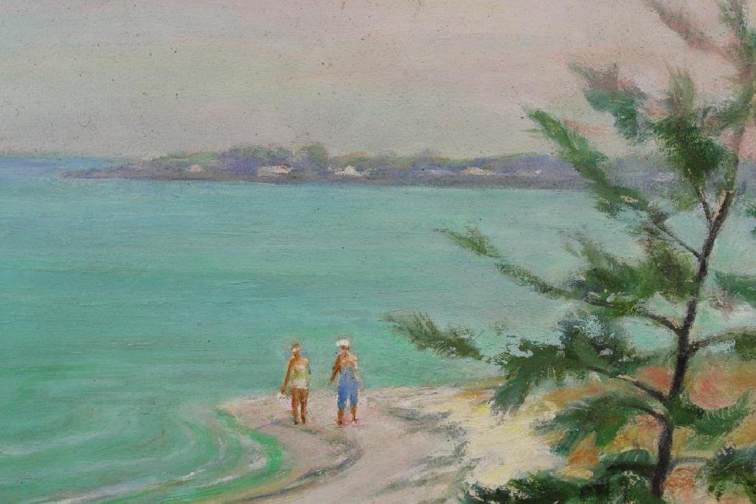 American School, New England Beach w/ Figures