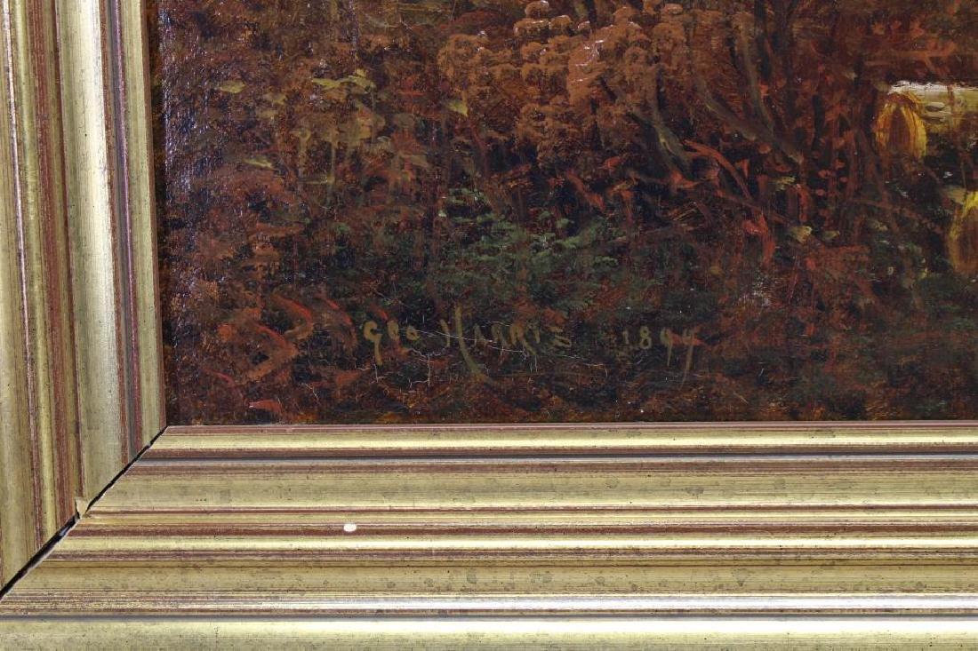 George Harris (1847 - 1915) Bucolic Landscape - 3