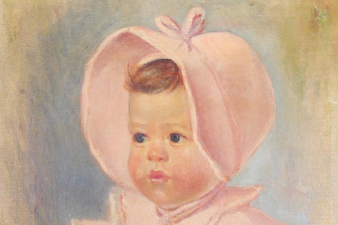 Signed B. Evan, Portrait of an Infant - 2