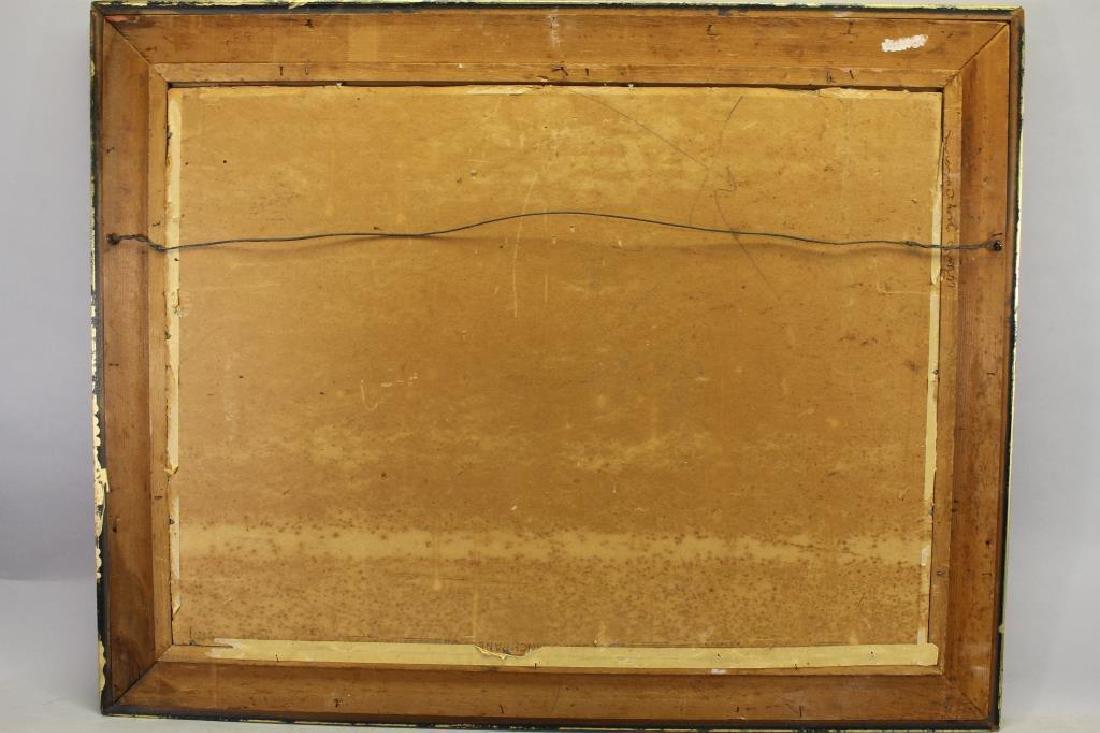 American School, 20th Century Tugboat Painting - 3