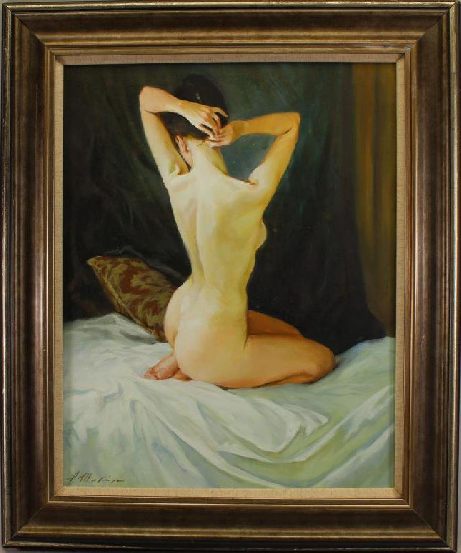 "Alexander Shevchuk (born 1960) ""Nude in Bed"""