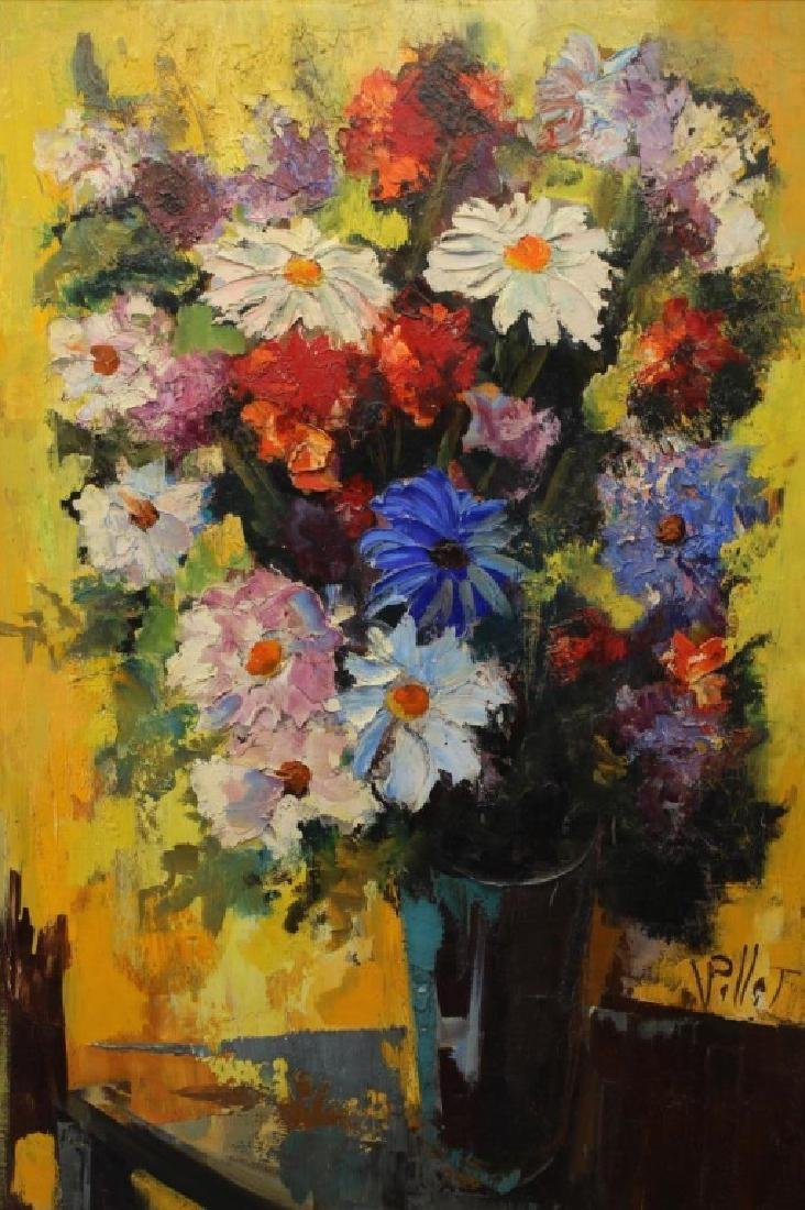 Signed, 20th C. Painting of a Floral Bouquet - 2