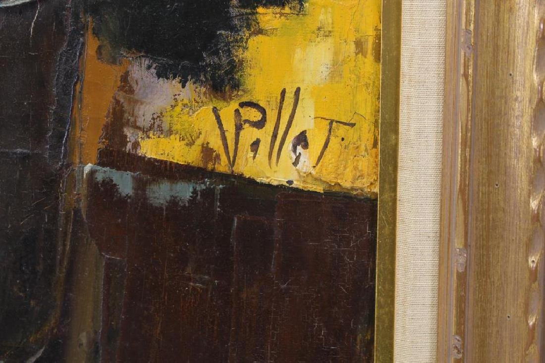 Signed, 20th C. Painting of a Floral Bouquet - 3