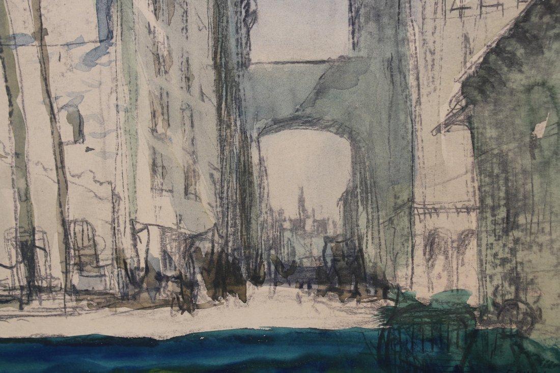 "Edwin N. Botsford  (1903 - 1949) \""Old San Francisco\"" - 2"