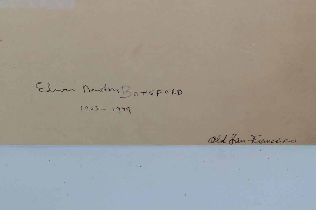 "Edwin N. Botsford  (1903 - 1949) \""Old San Francisco\"" - 4"