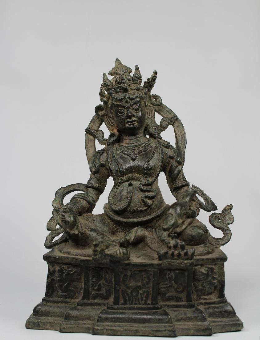 Chinese Ming Dynasty Mahayana Style Lord of Wealth - 10