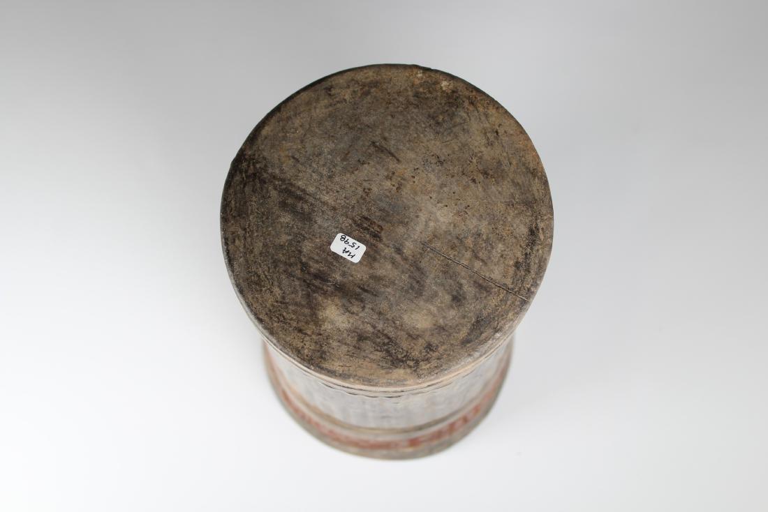 Maya Cylinder from El Salvador ca. 250-800 AD - 6