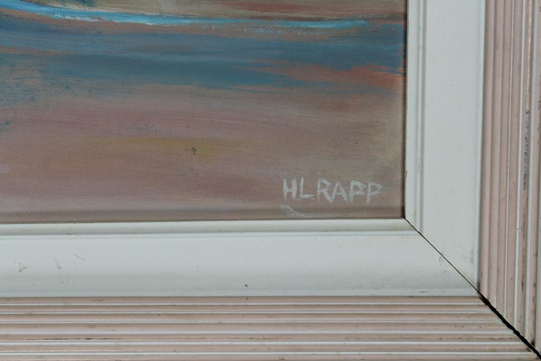 Rapp, Vintage Painting of New England Town - 3