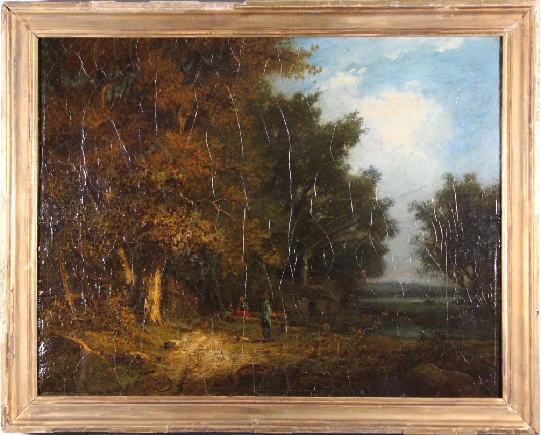19th C. American School Plein Air landscape