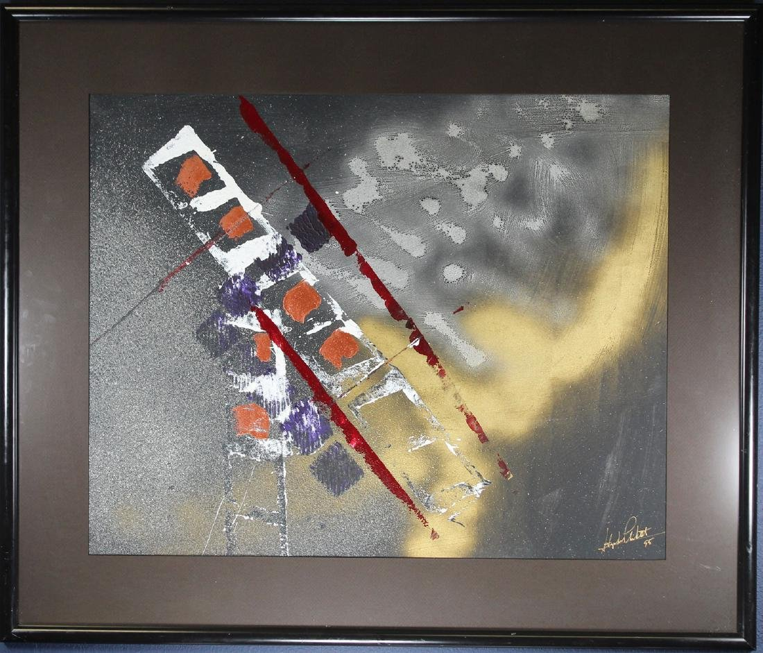 Signed, Mixed Media Abstract Painting