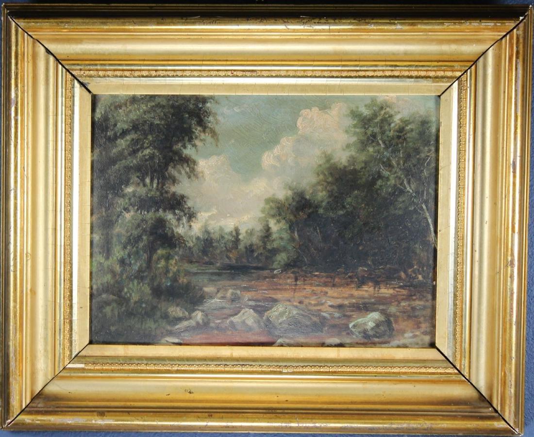 American School, 19th C. River Landscape