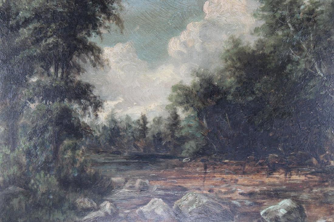 American School, 19th C. River Landscape - 2