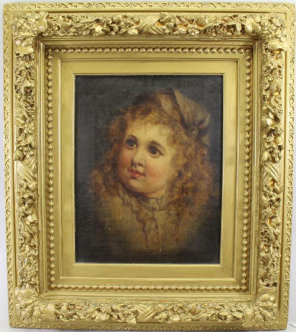 English School, 19th C. Portrait of a Woman