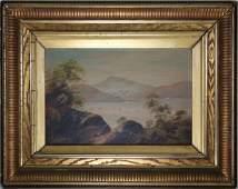 American School, 19th C. Hudson River Landscape
