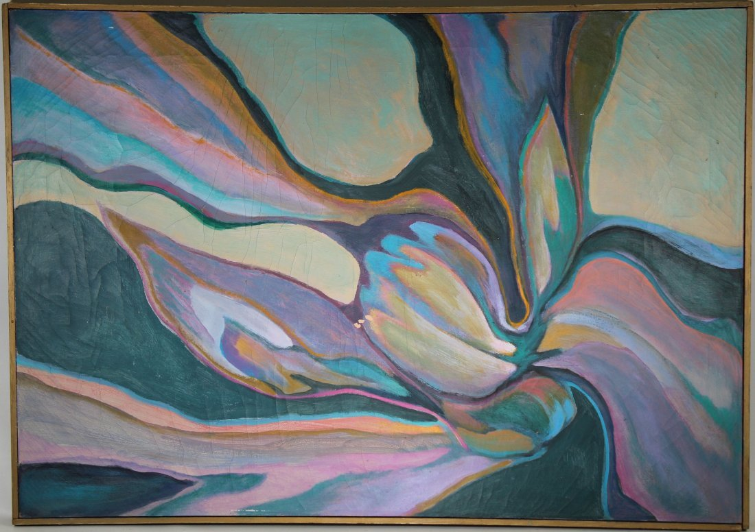 American School, 20th C. Abstract Painting