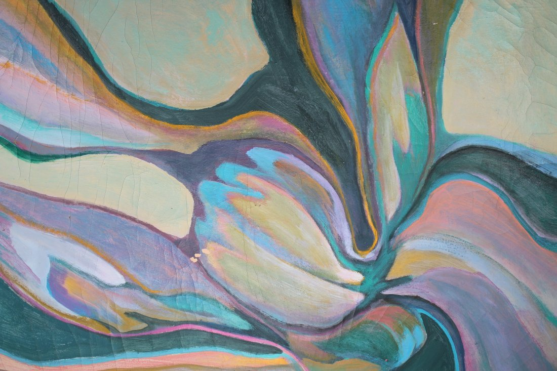 American School, 20th C. Abstract Painting - 2