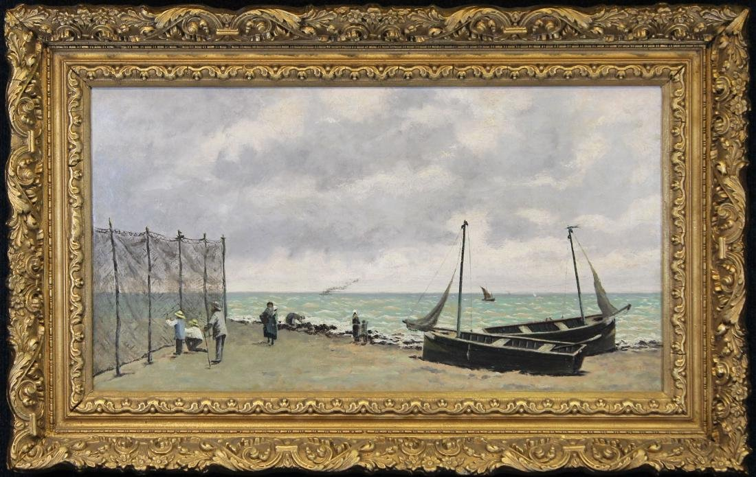 Manner of Eugene Louis Boudin (1824 - 1898)