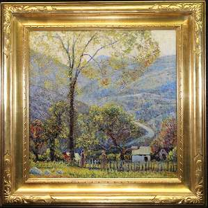 Manner of Edward Redfield (1869 - 1965), Signed