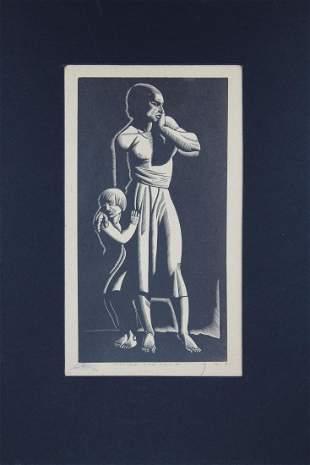 Earl Marshawn Washington b 1962 Mother Child