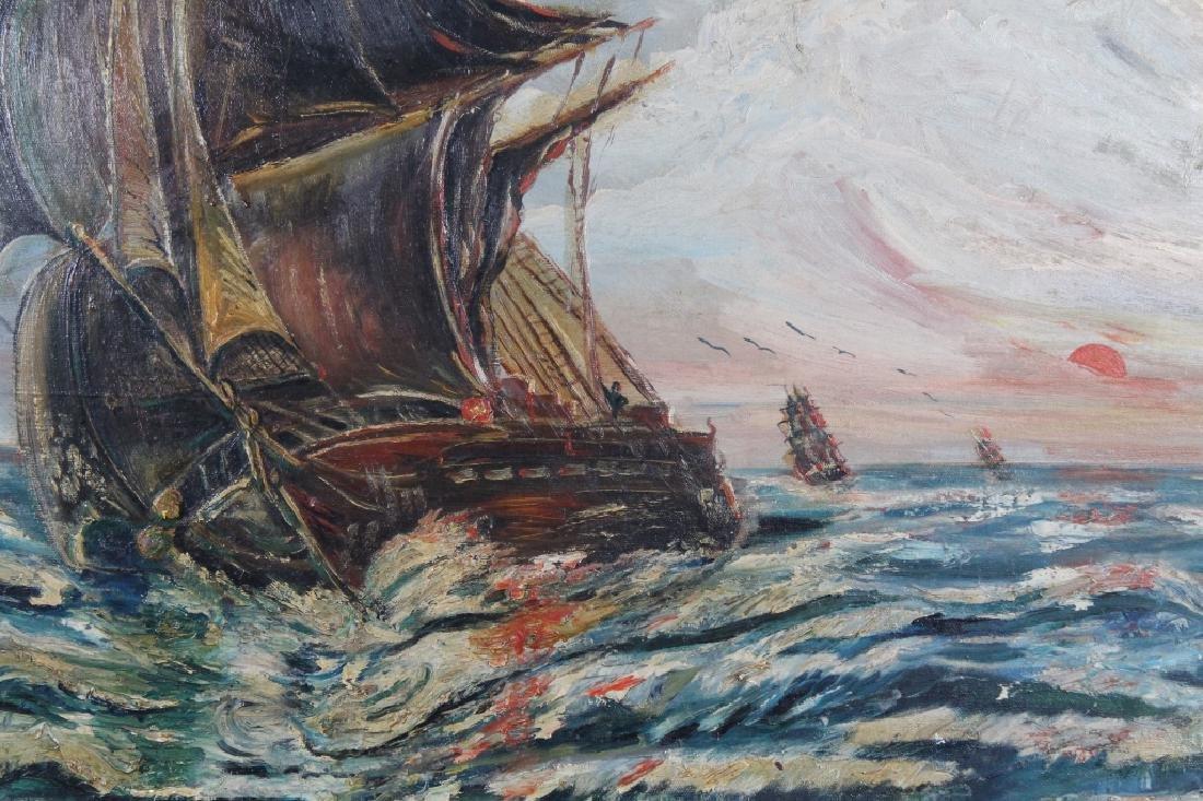 Augustus Lavinci Williams, Clipper Ship Painting - 2