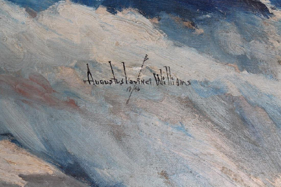 Augustus Lavinci Williams, Clipper Ship Painting - 3