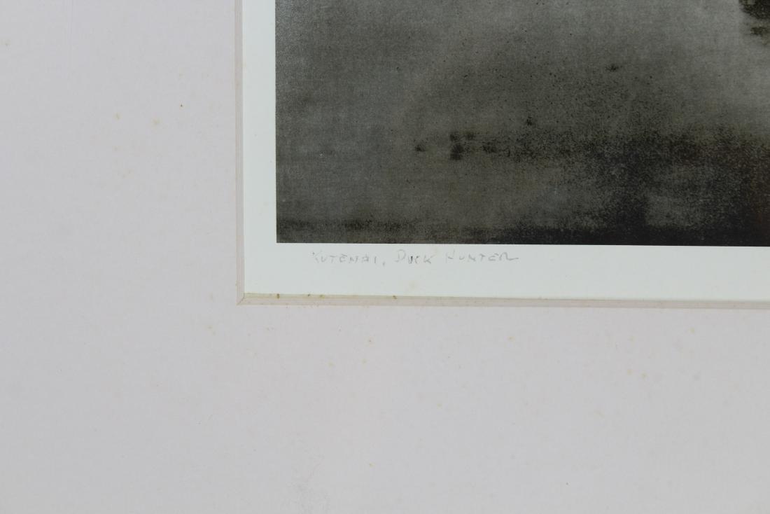 """Edward Curtis Photogravure/Poster """"Duck Hunter"""" - 3"""