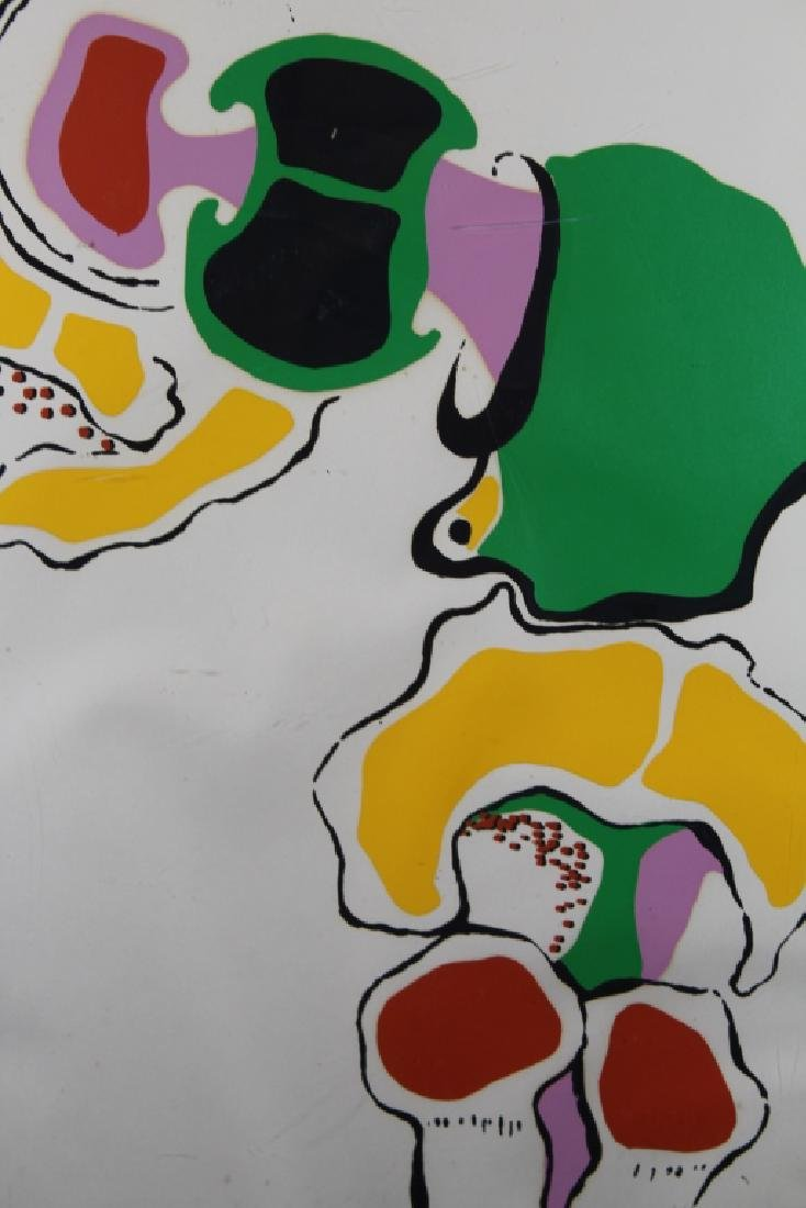 '71 Signed, Abstract Lithograph - 2