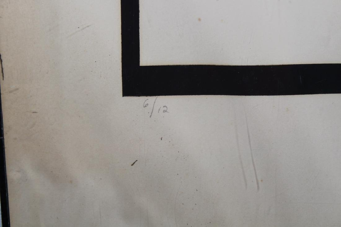 '71 Signed, Abstract Lithograph - 4