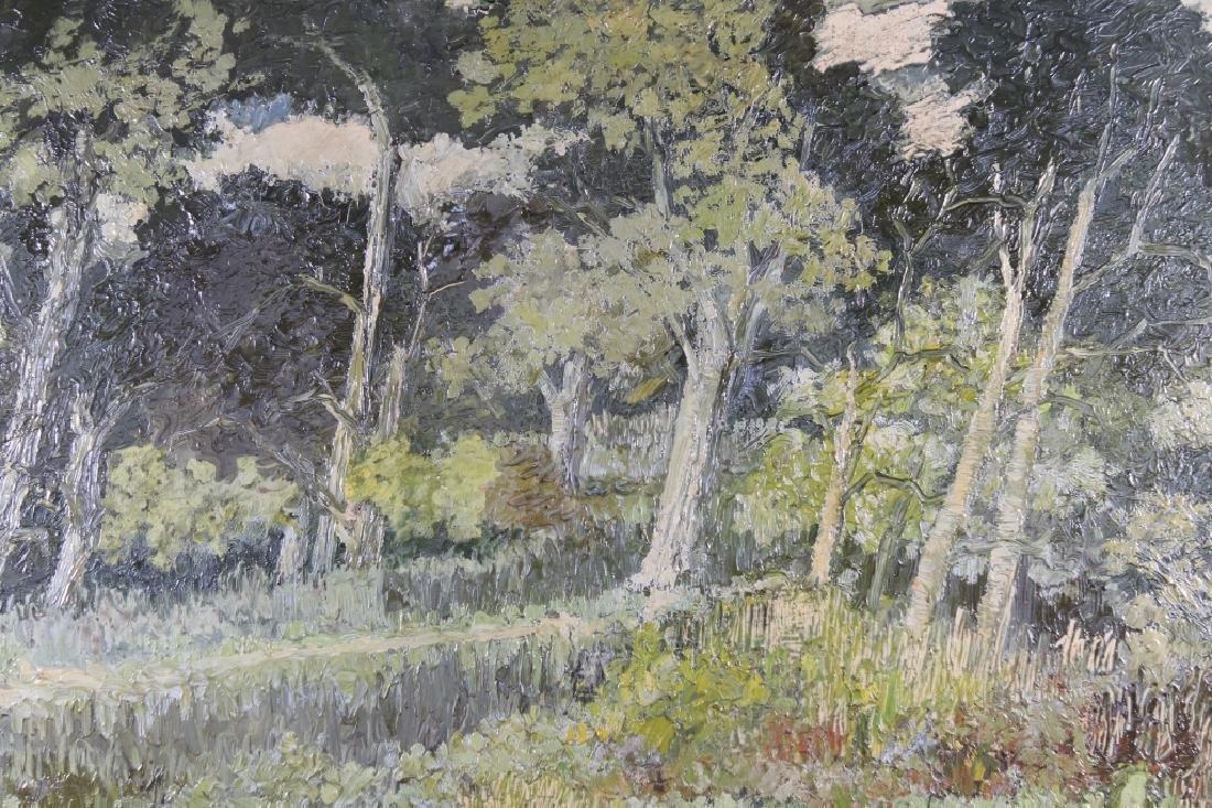 European School, Impressionist Wooded Landscape - 2