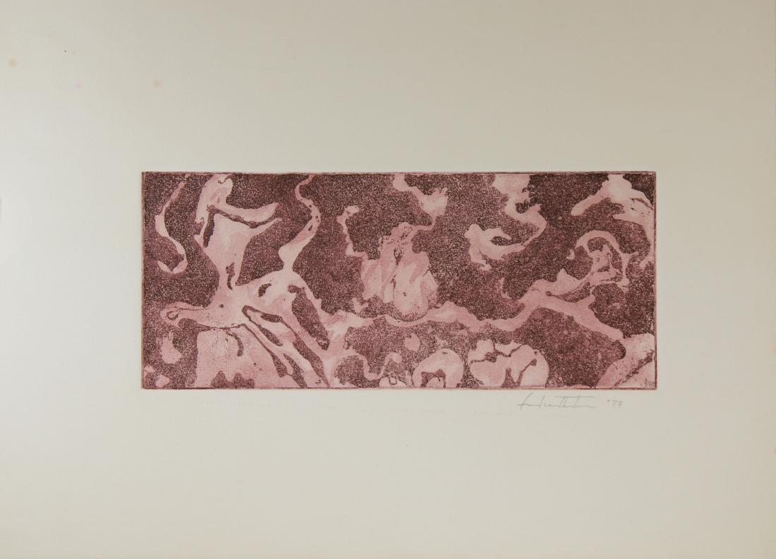 Helen Frankenthaler (1928 - 2011) Monotype