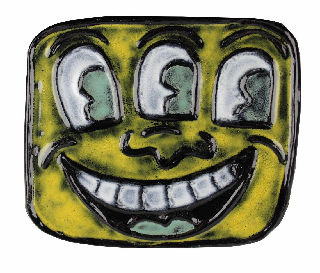 Keith Haring (1958 - 1990) Ceramic Plaque