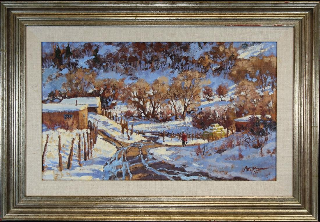 "Ron Rencher (born 1952) ""January Thaw"""