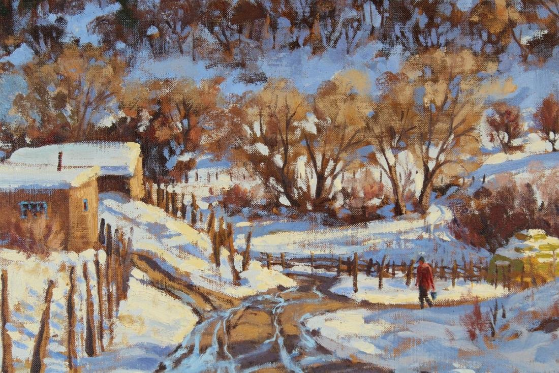 "Ron Rencher (born 1952) ""January Thaw"" - 2"