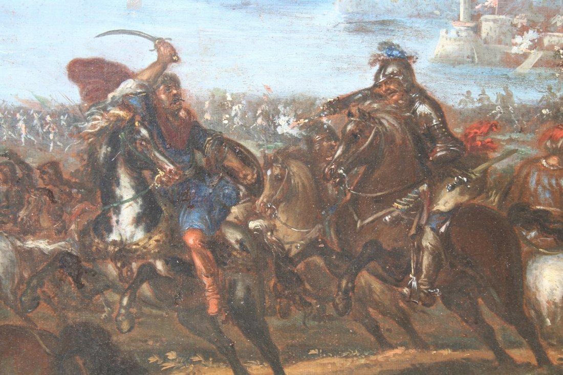 Ilario Spolverini (1657-1734) Large Battle Scene - 5
