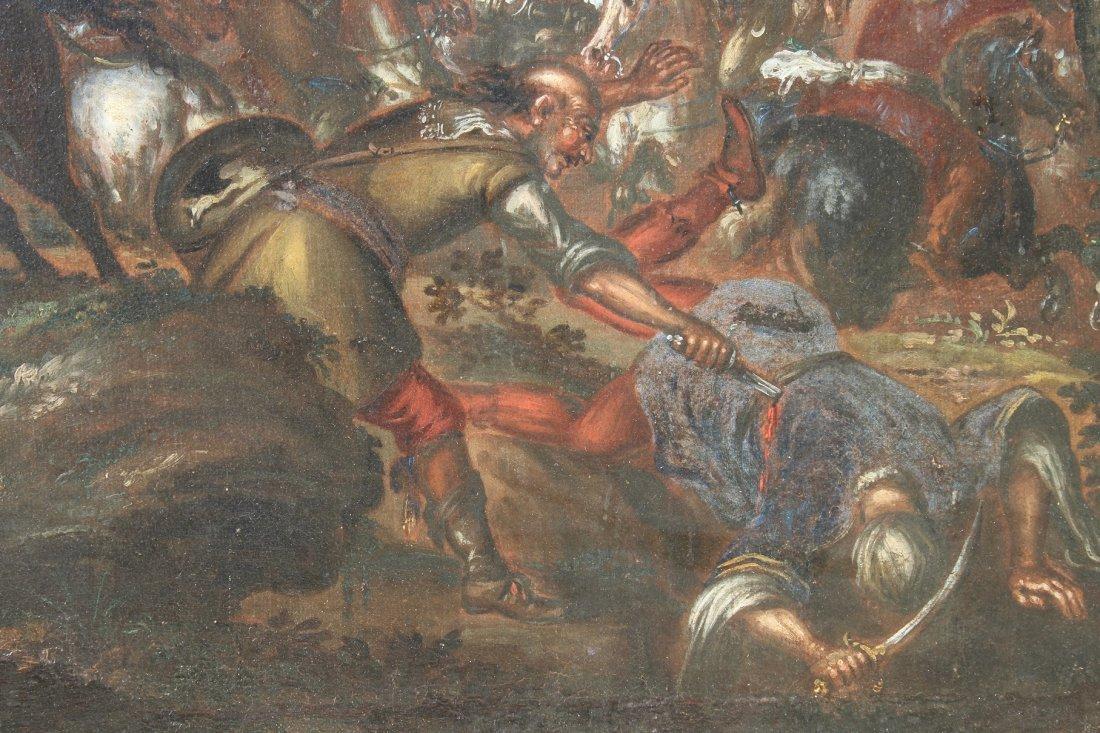 Ilario Spolverini (1657-1734) Large Battle Scene - 6