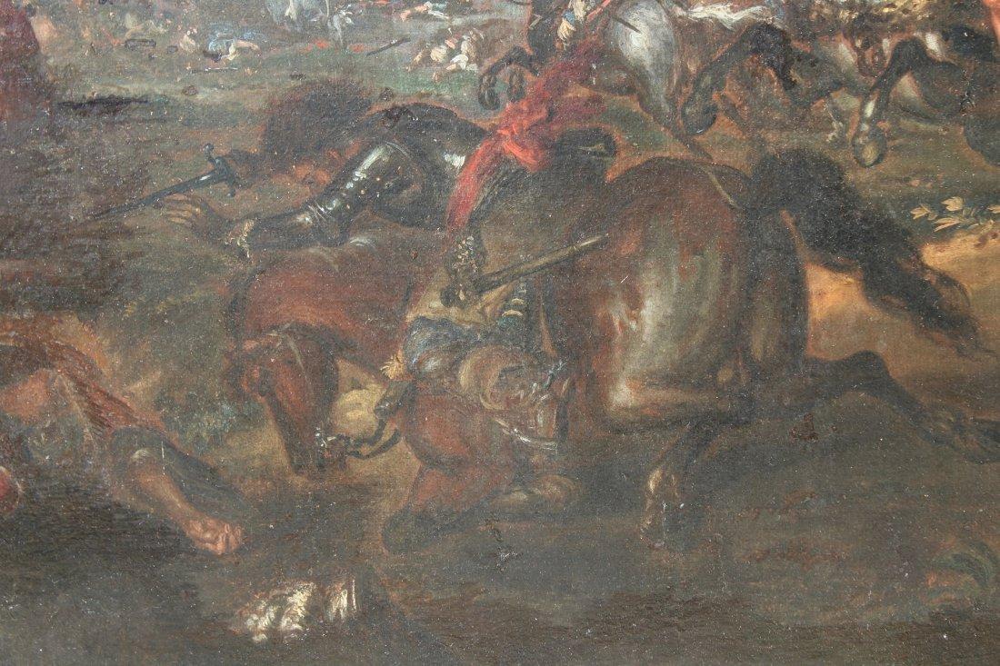 Ilario Spolverini (1657-1734) Large Battle Scene - 7