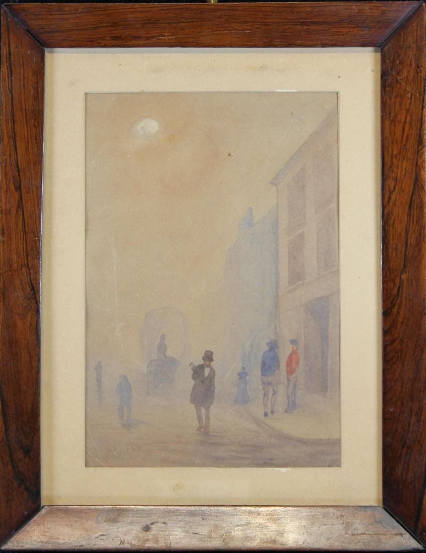 """Signed Whistler, """"Early Morning, Cheapside"""" W/C"""