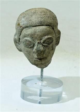 LaTolita Head Fragment Ecuador ca 300 BC400 AD