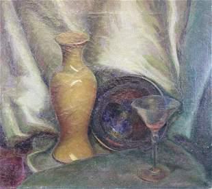 Scanlan 20th C Still Life Painting