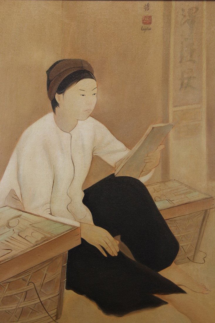 Attributed to Le Pho, Painting of Figure - 2