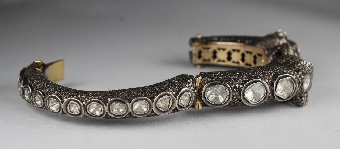 Unusual Panther Bracelet, 15ct Diamonds - 3