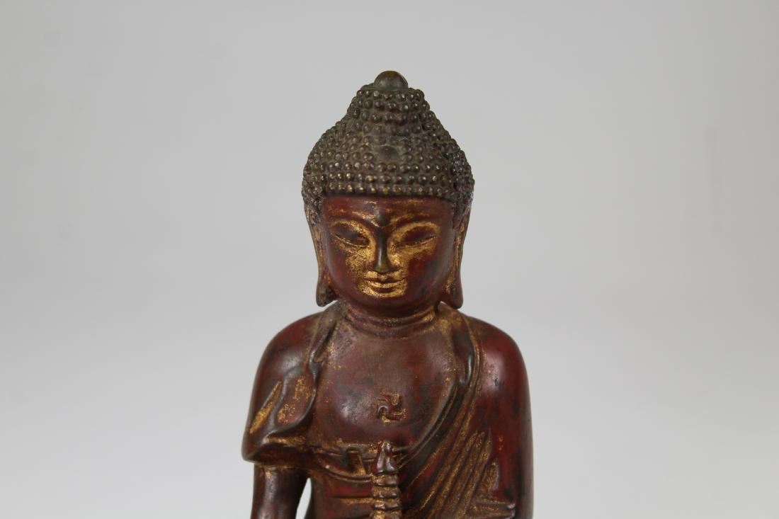 Early Antique Bronze Bhaisajyaguru Buddha - 2