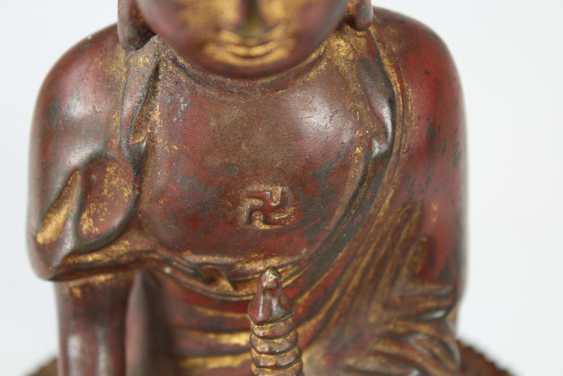 Early Antique Bronze Bhaisajyaguru Buddha - 4