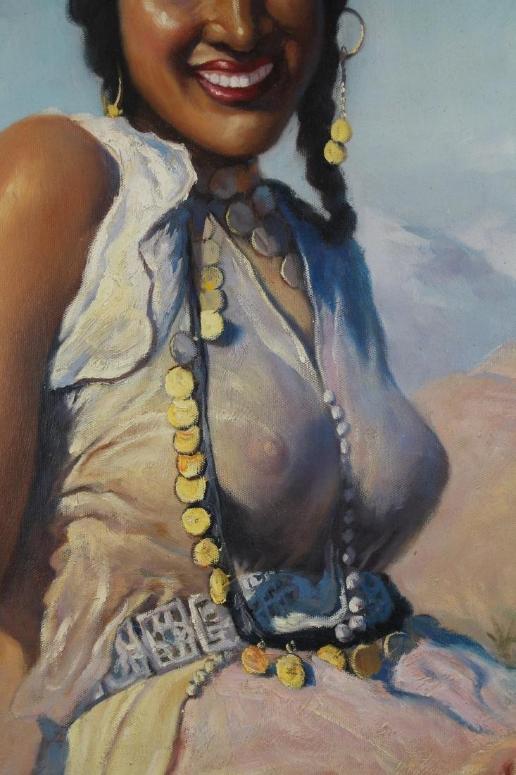 """""""Oriental Beauty"""" Adam Styka (NY, Polish, 1890 - 1951) - 3"""